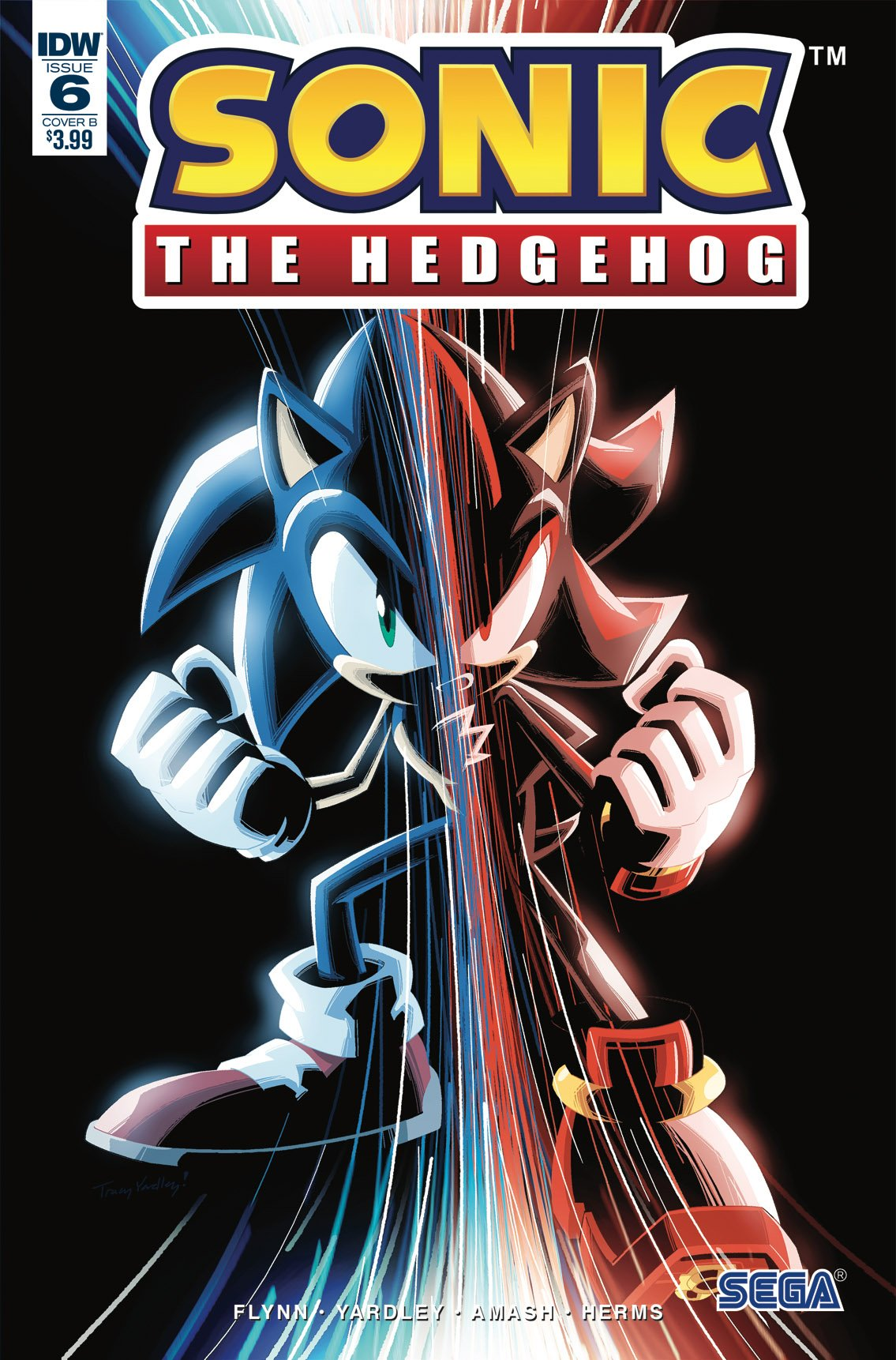 Sonic the Hedgehog 006 (June 2018) (cover b)