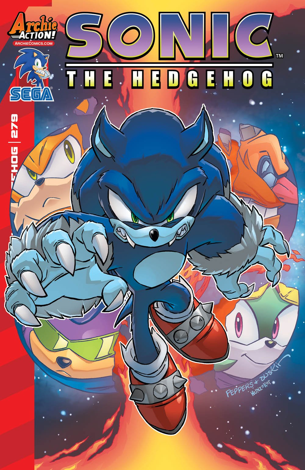 Sonic the Hedgehog 279 (May 2016)
