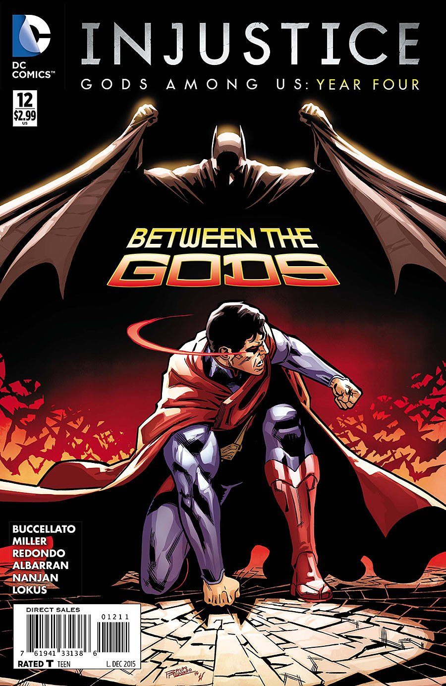 Injustice - Gods Among Us: Year Four 012 (December 2015)