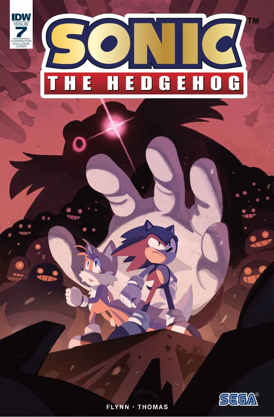 Sonic the Hedgehog 007 (July 2018) (convention exclusive c)