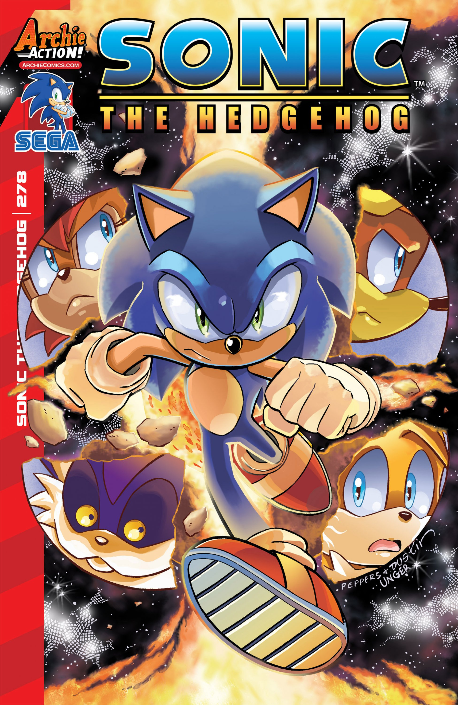 Sonic the Hedgehog 278 (January 2016)