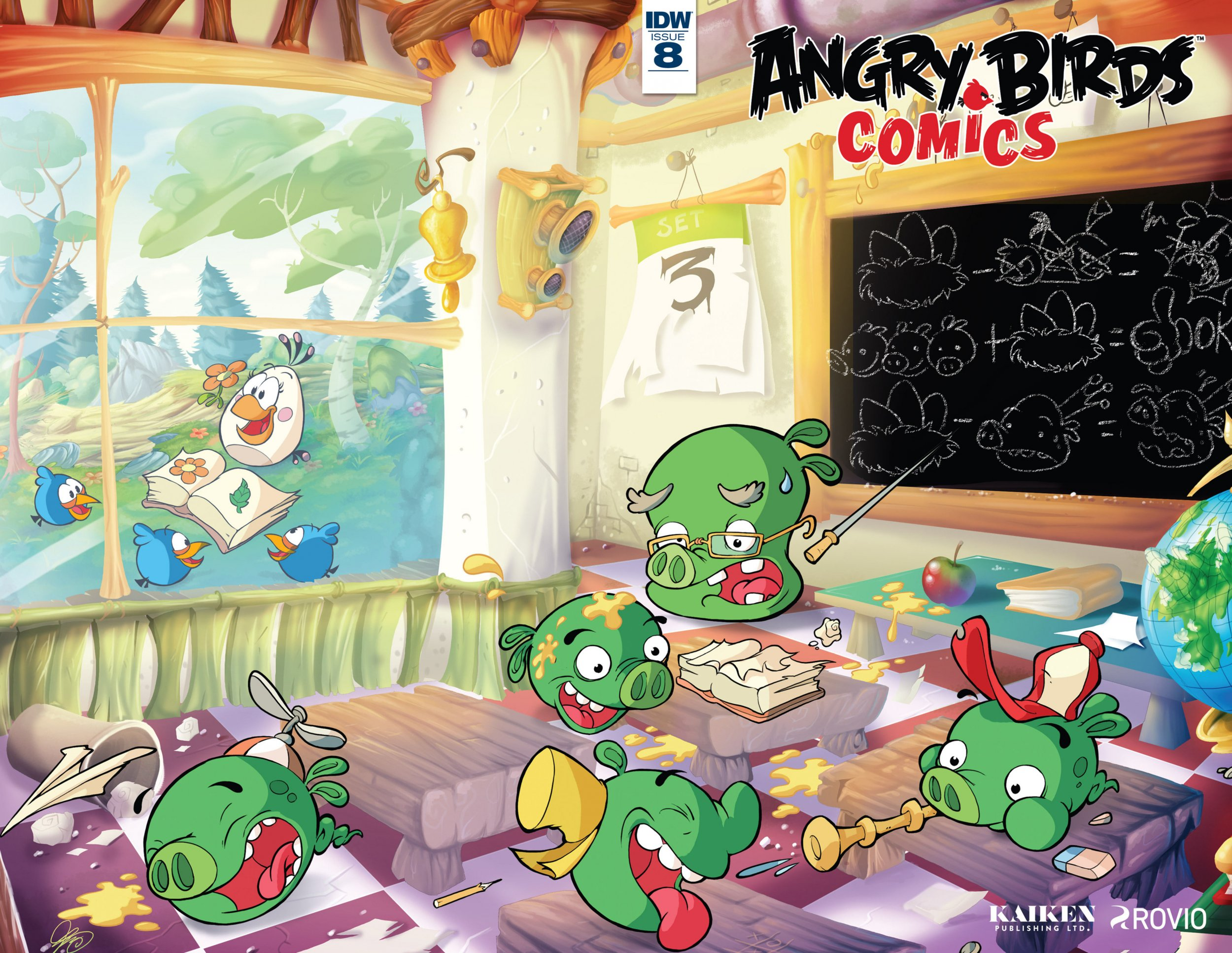 Angry Birds Comics Vol.2 008 (August 2016)