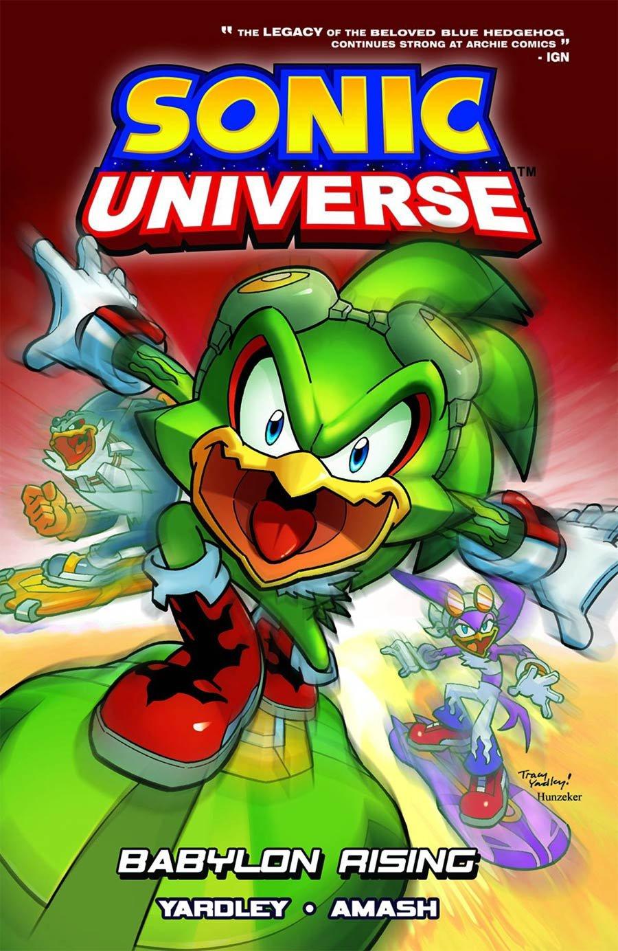 Sonic Universe Vol.09 - Babylon Rising (canceled)