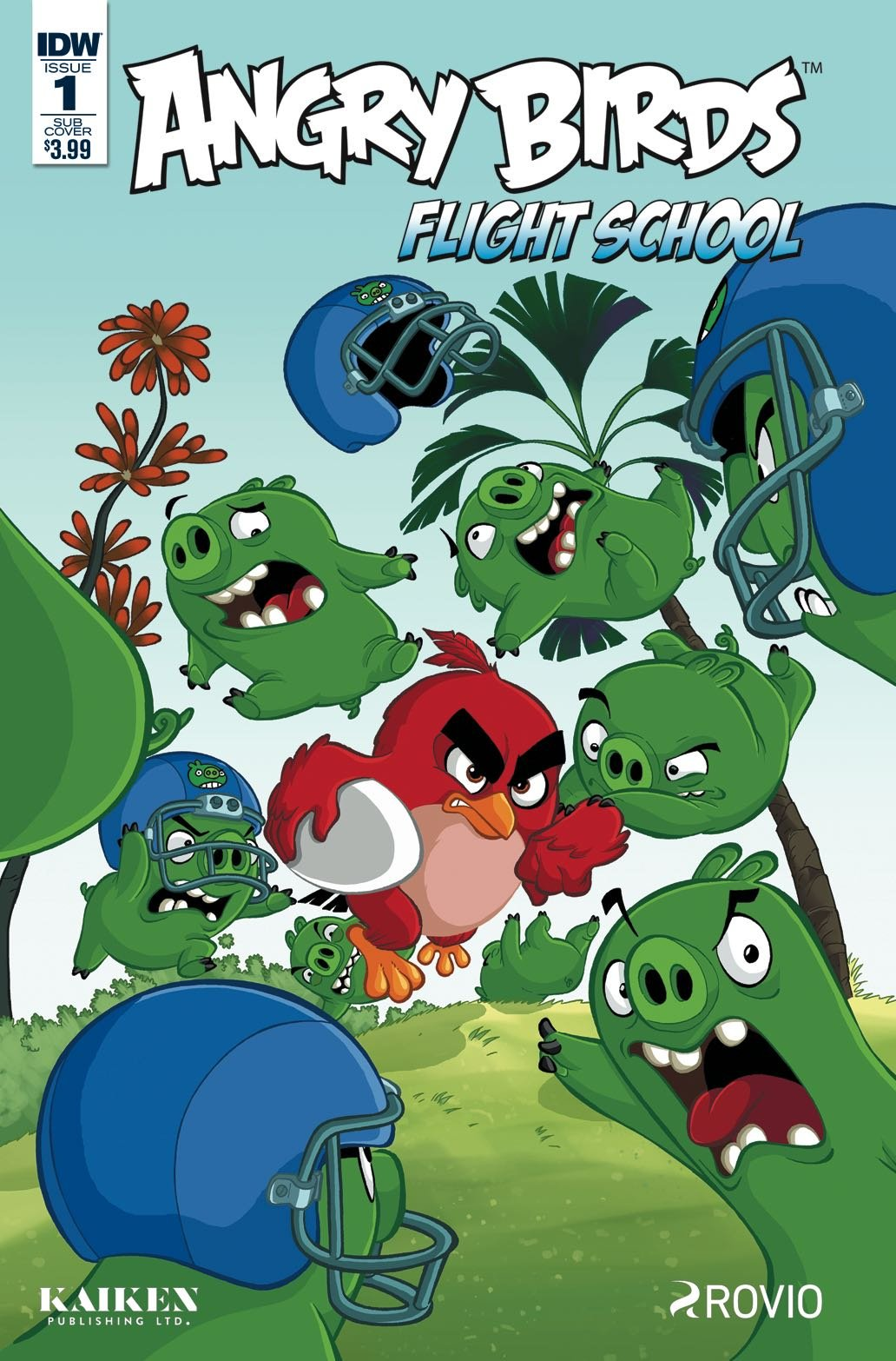 Angry Birds - Flight School 001 (February 2017) (subscriber cover)