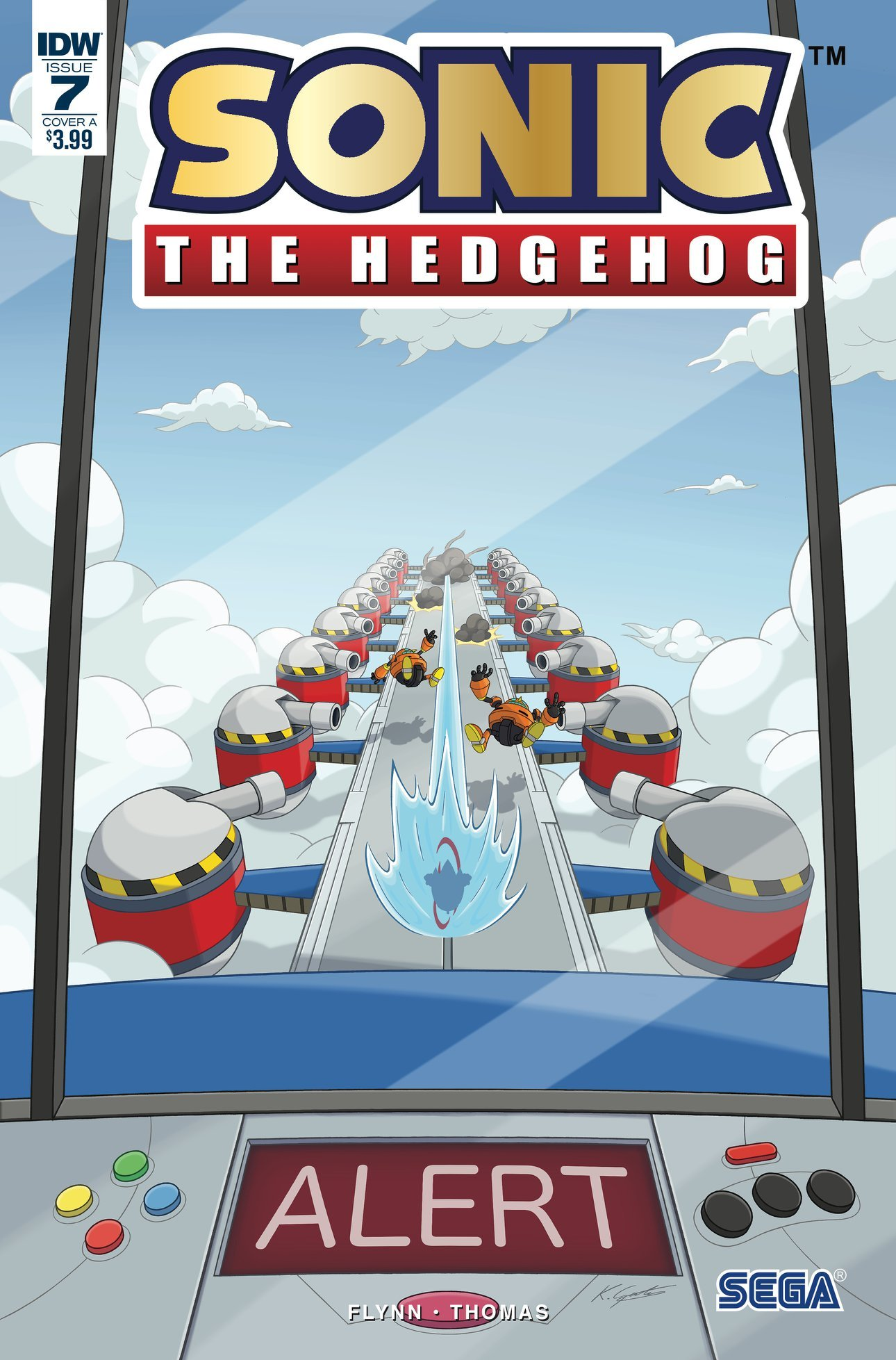 Sonic the Hedgehog 007 (July 2018) (cover a)