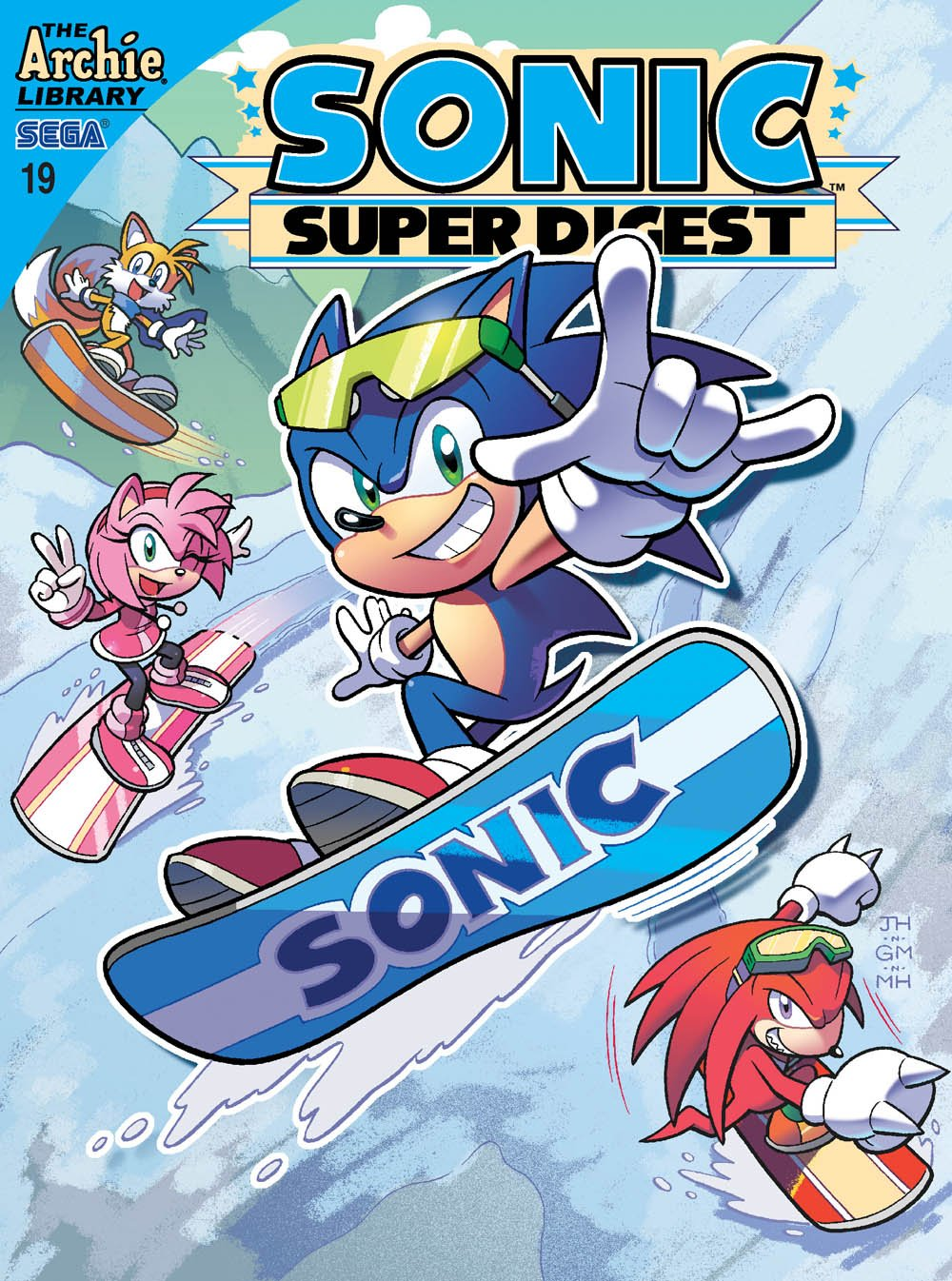 Sonic Super Digest 19 (canceled)