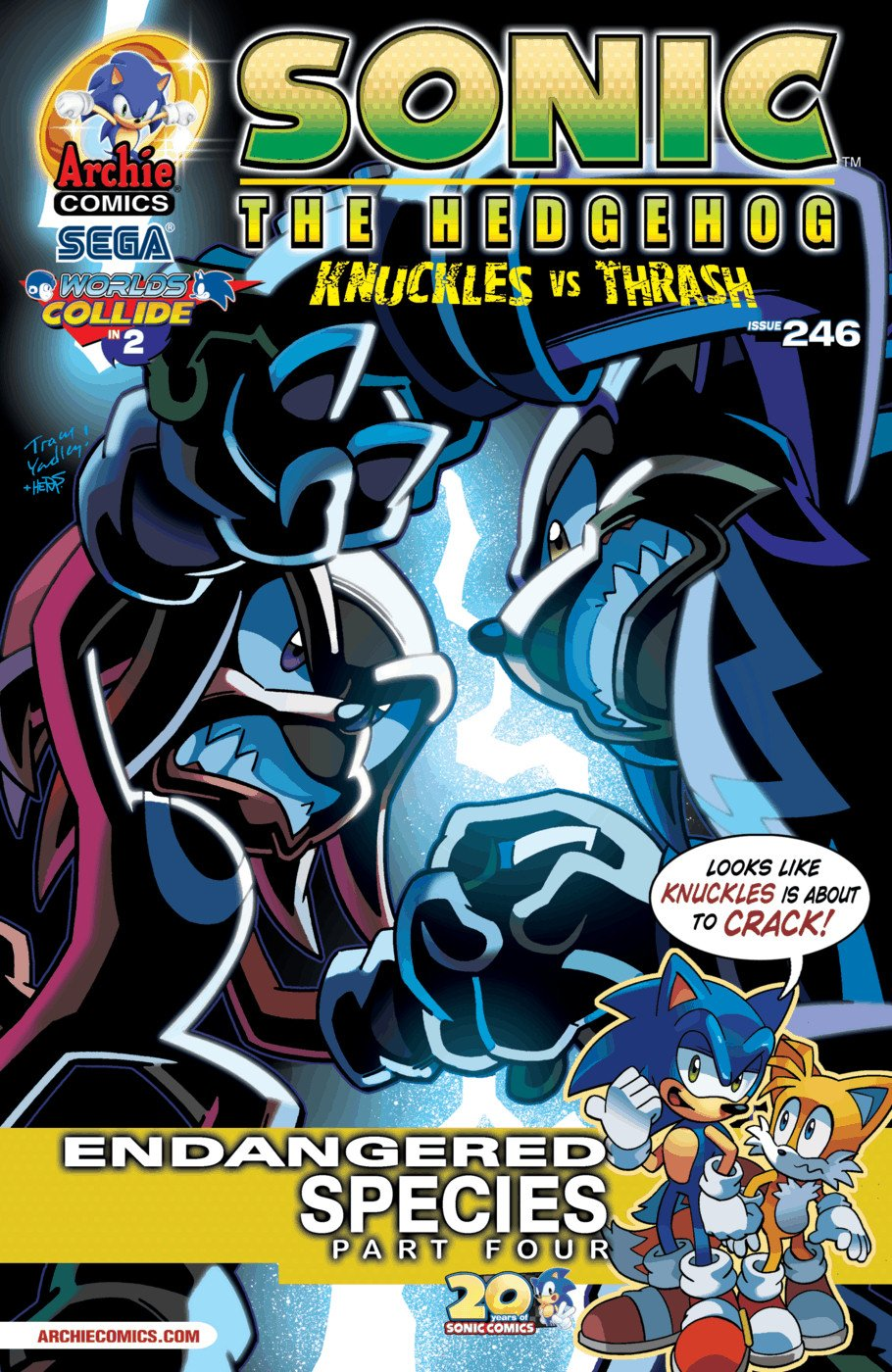 Sonic the Hedgehog 246 (April 2013)