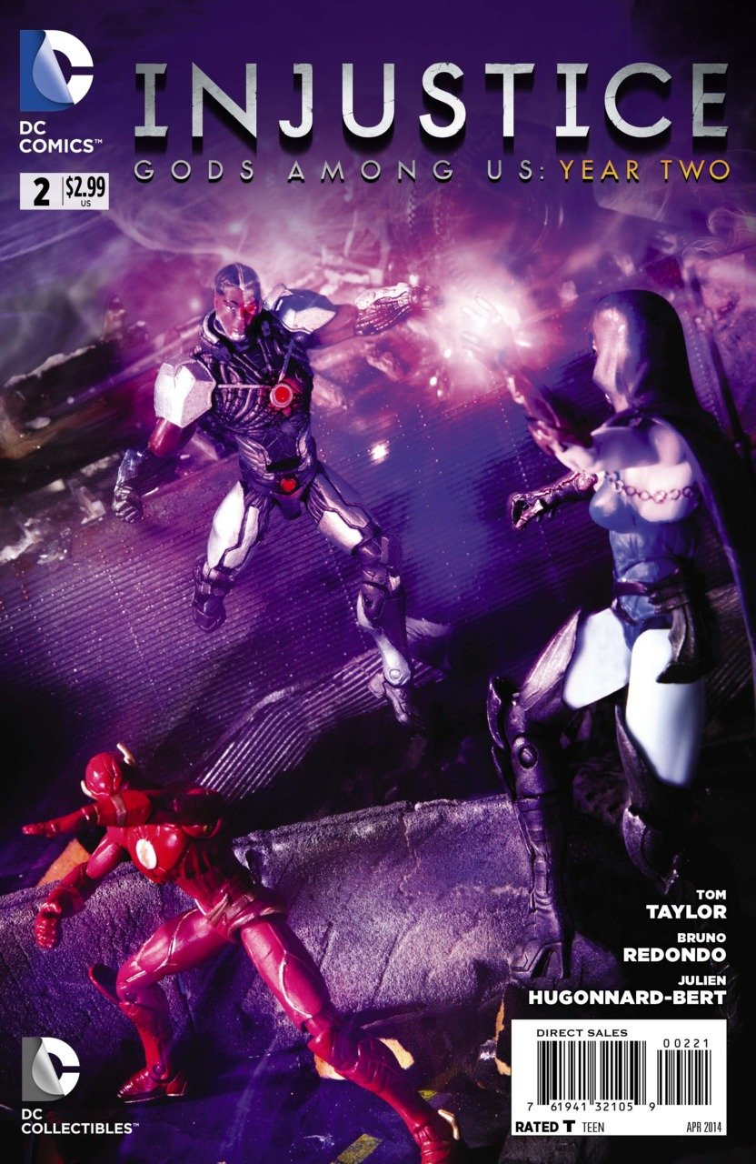 Injustice - Gods Among Us: Year Two 002 (April 2014) (variant)