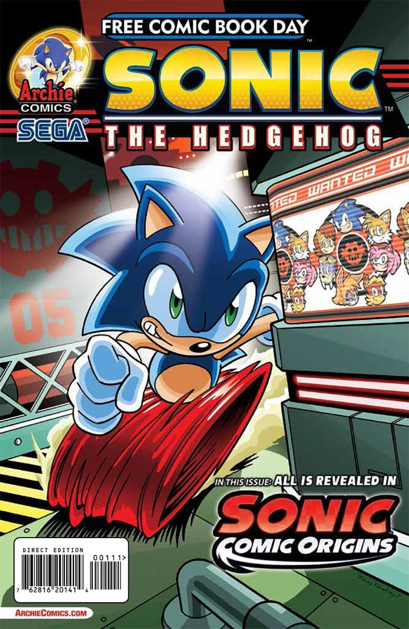 Sonic the Hedgehog FCBD 2014
