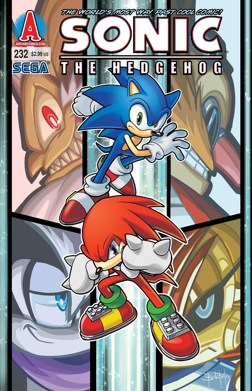 Sonic the Hedgehog 232 (February 2012)