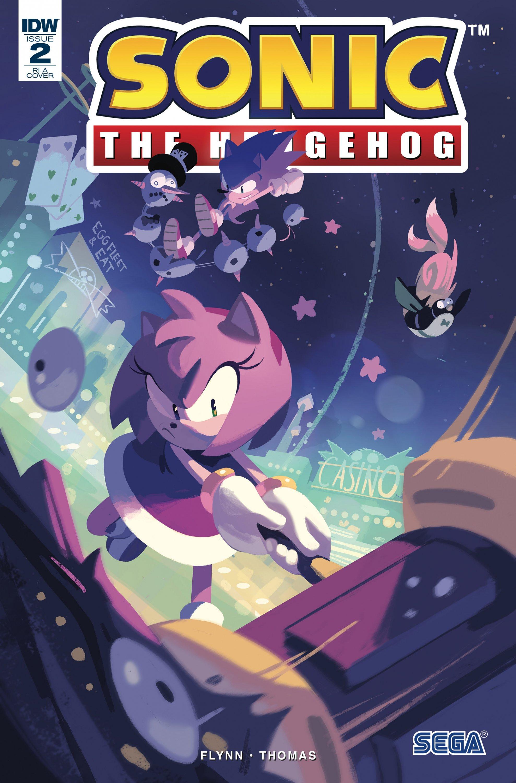 Sonic the Hedgehog 002 (April 2018) (Retailer Incentive a)