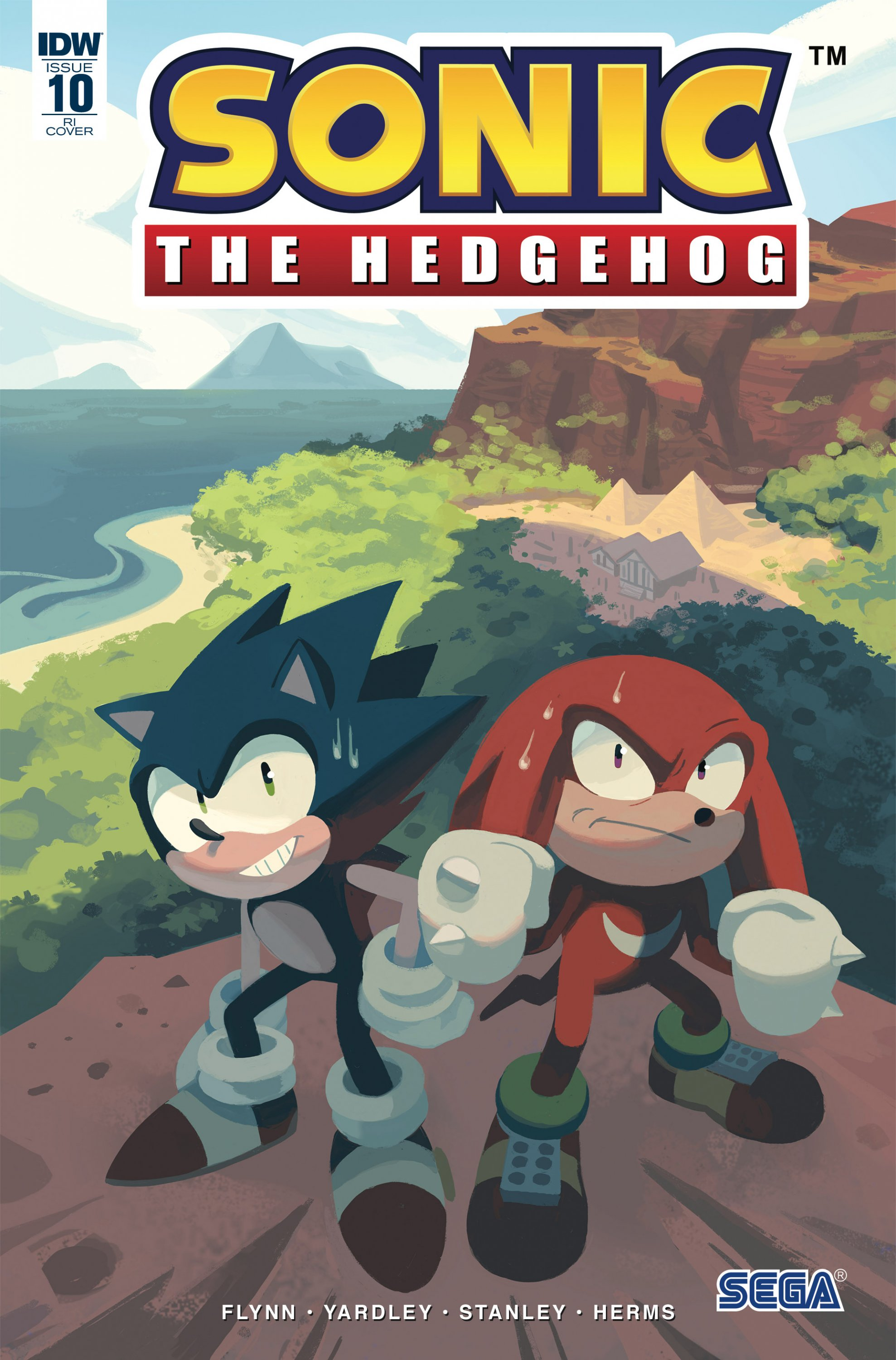 Sonic the Hedgehog 010 (October 2018) (retailer incentive)