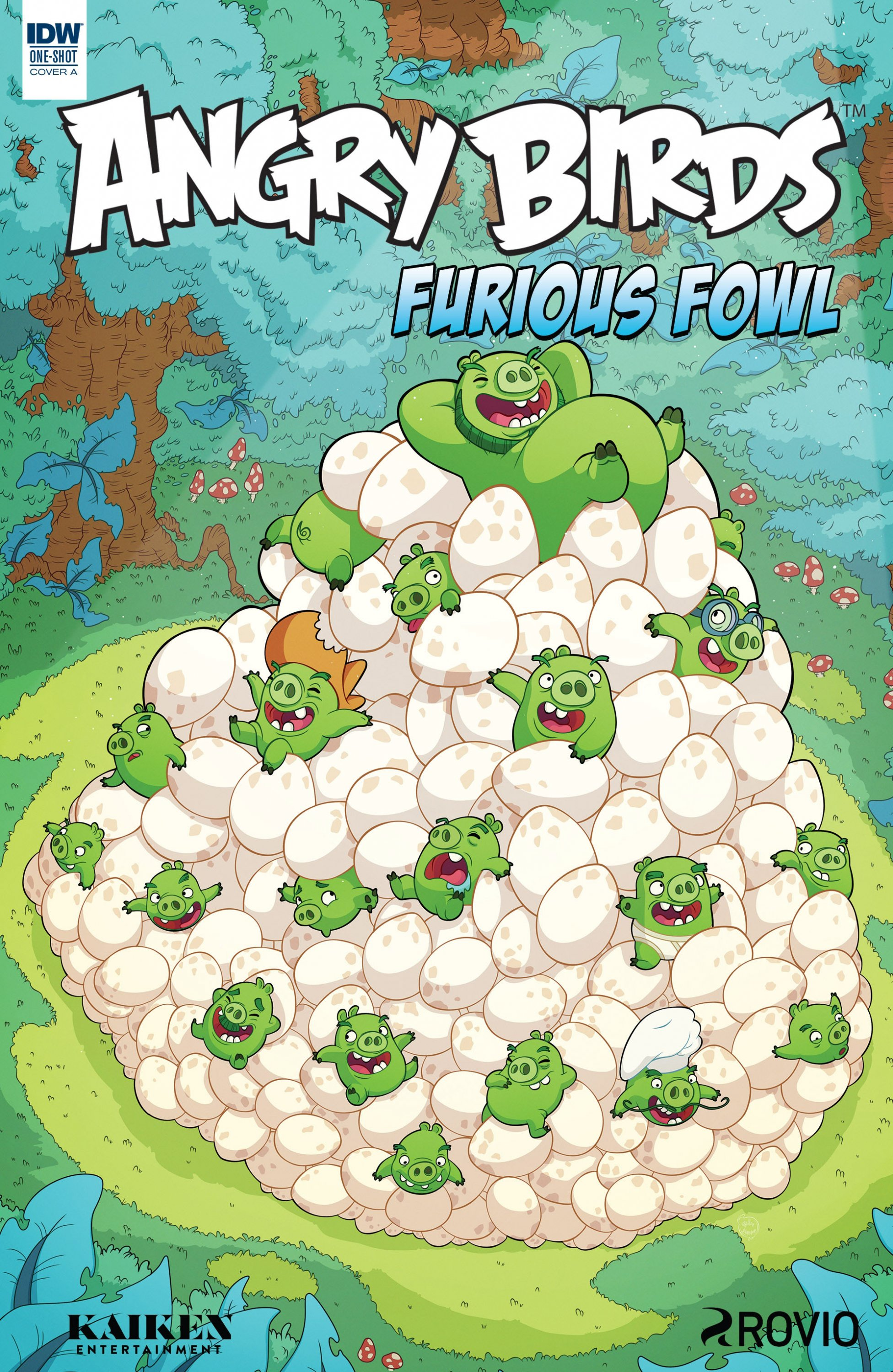 Angry Birds Comics Quarterly - Furious Fowl (August 2017) (cover a)