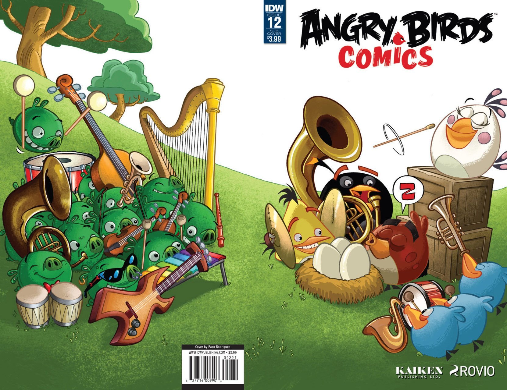 Angry Birds Comics Vol.2 012 (December 2016) (subscriber cover)