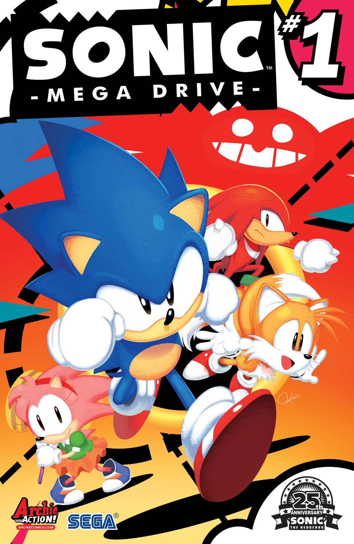Sonic Mega Drive (August 2016)