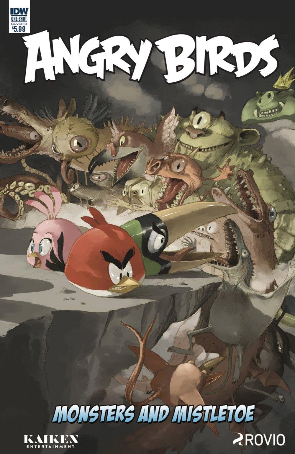 Angry Birds Comics Quarterly - Monsters & Mistletoe (December 2017)