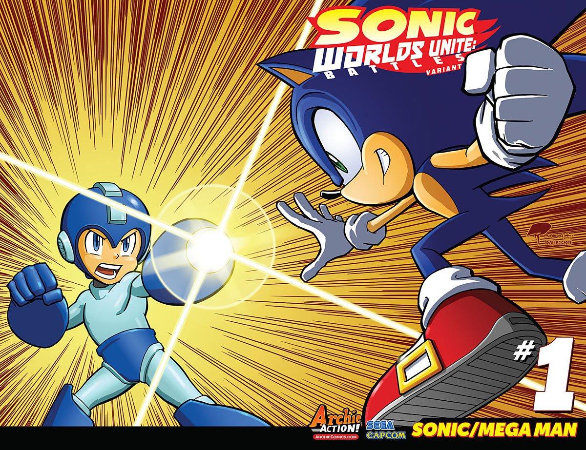 Sonic the Hedgehog - Worlds Unite: Battles (September 2015) (variant 1)
