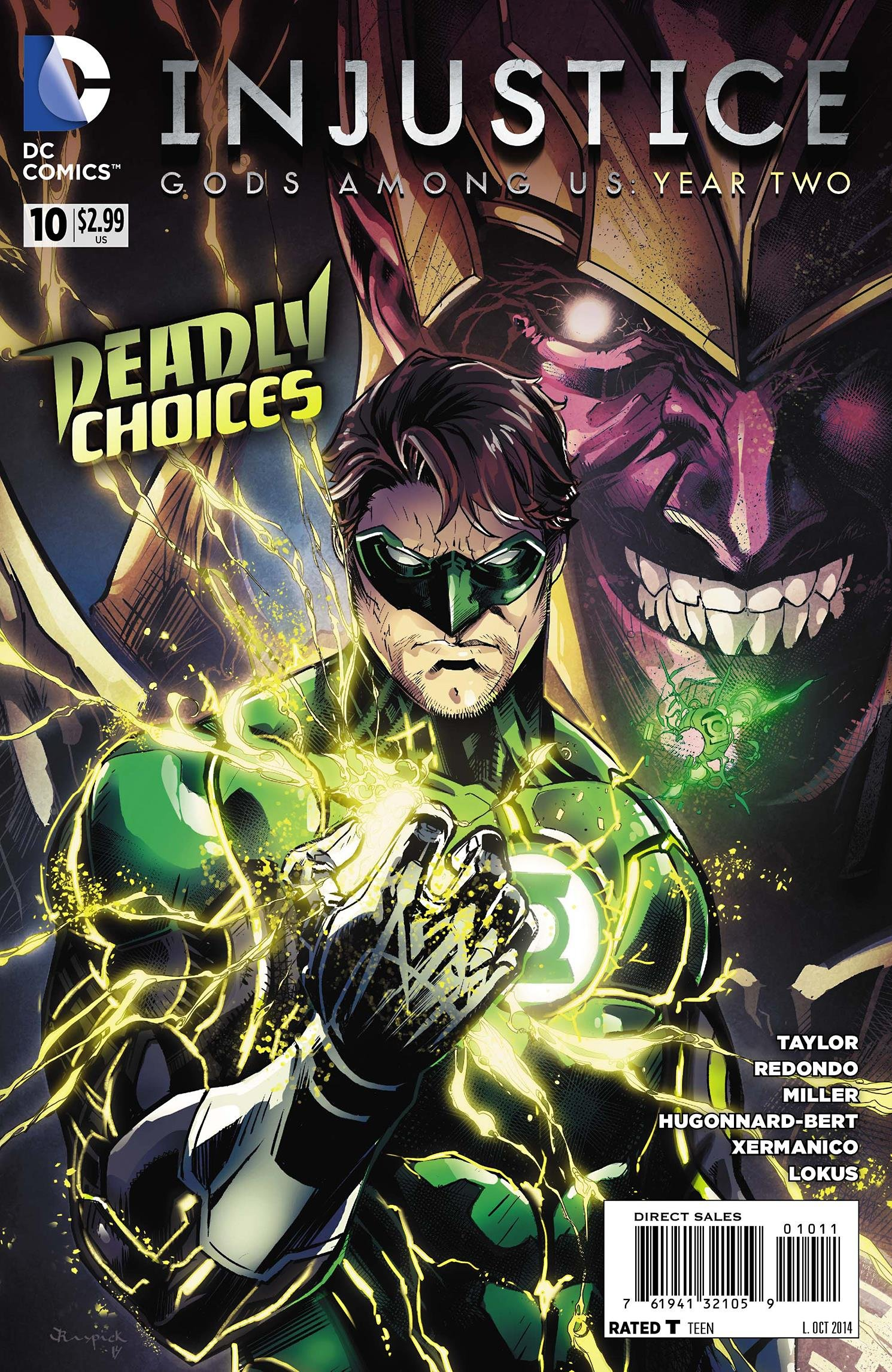 Injustice - Gods Among Us: Year Two 010 (October 2014)