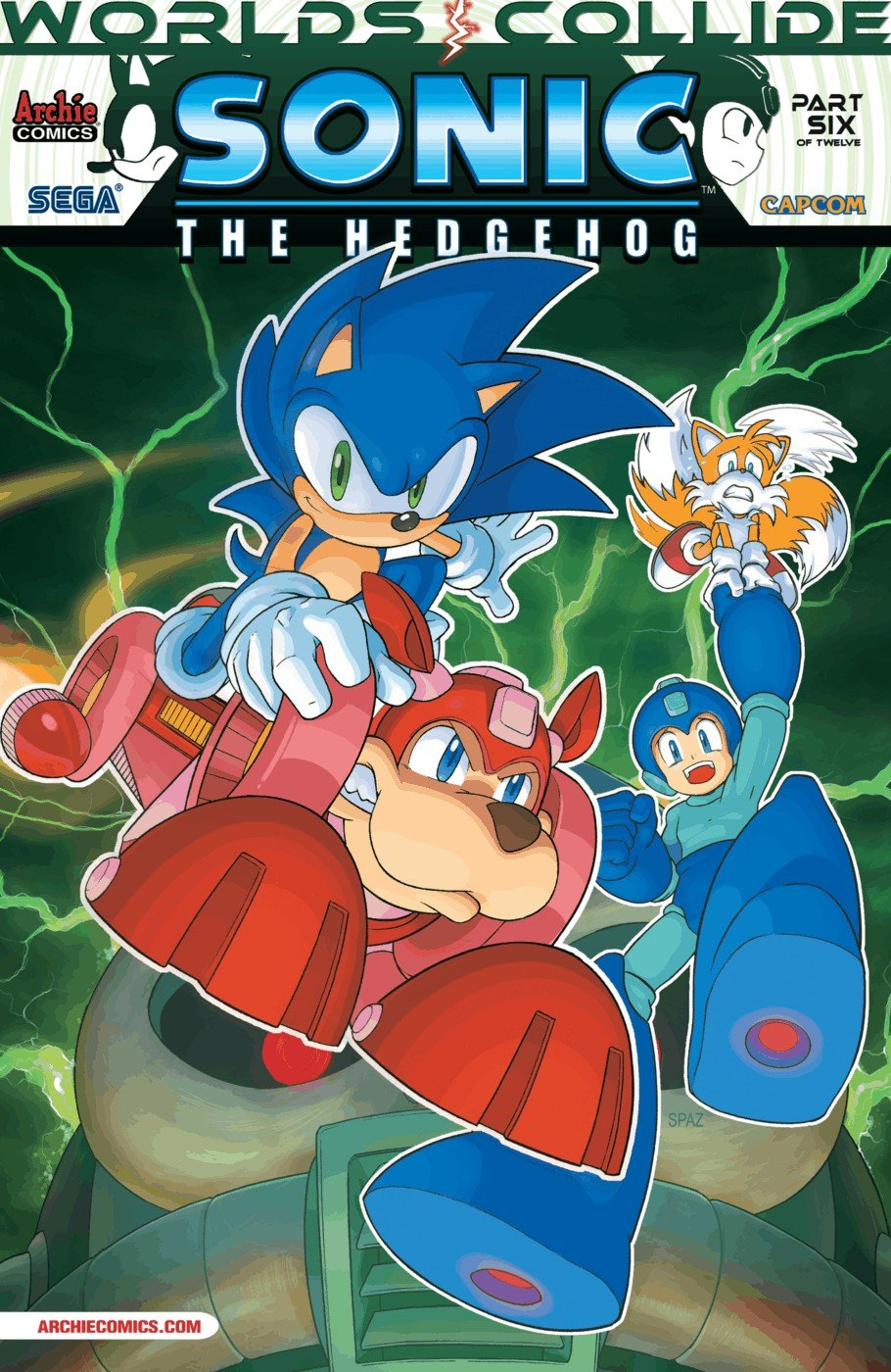 Sonic the Hedgehog 249 (July 2013)