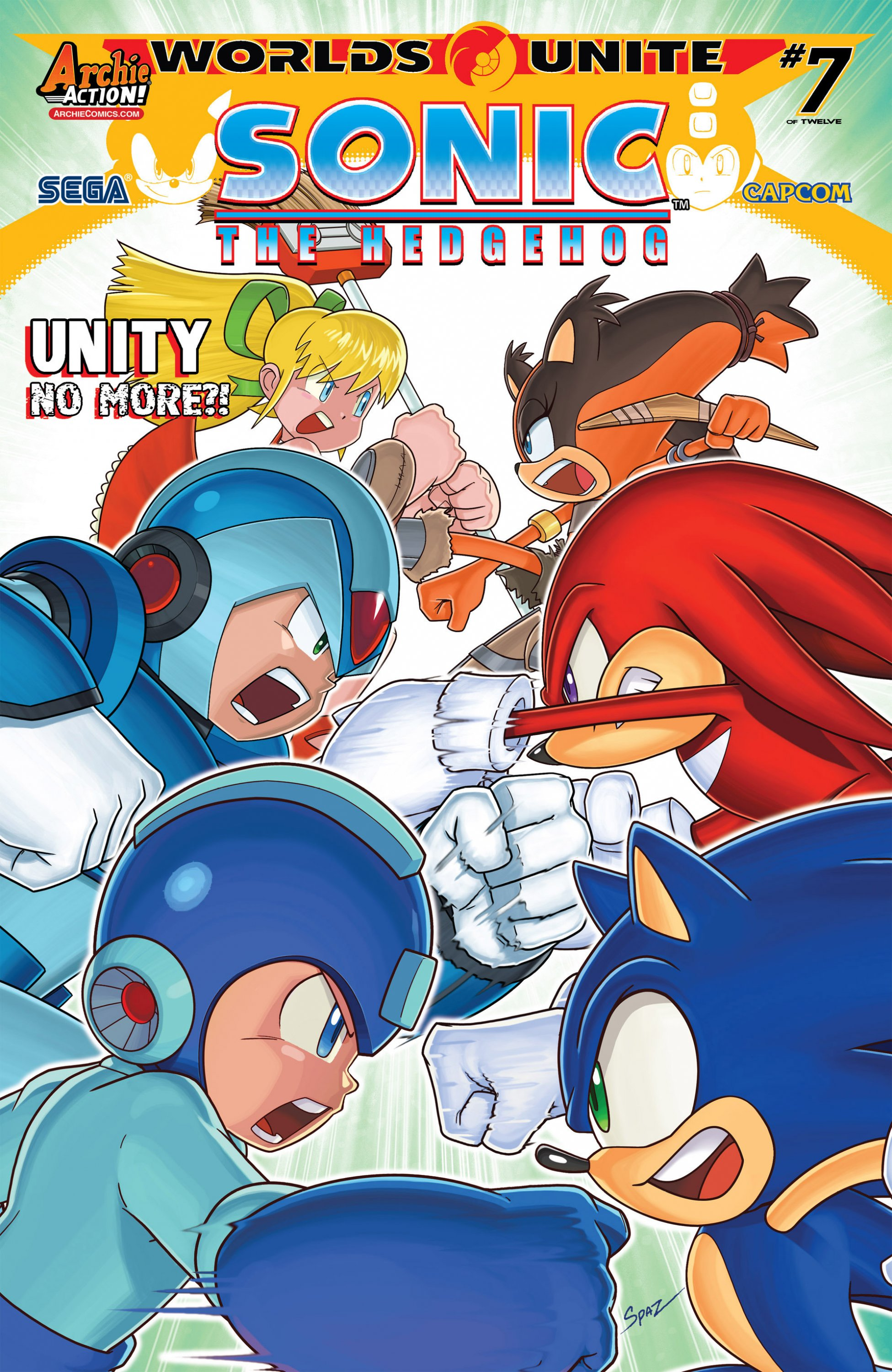 Sonic the Hedgehog 274 (September 2015)