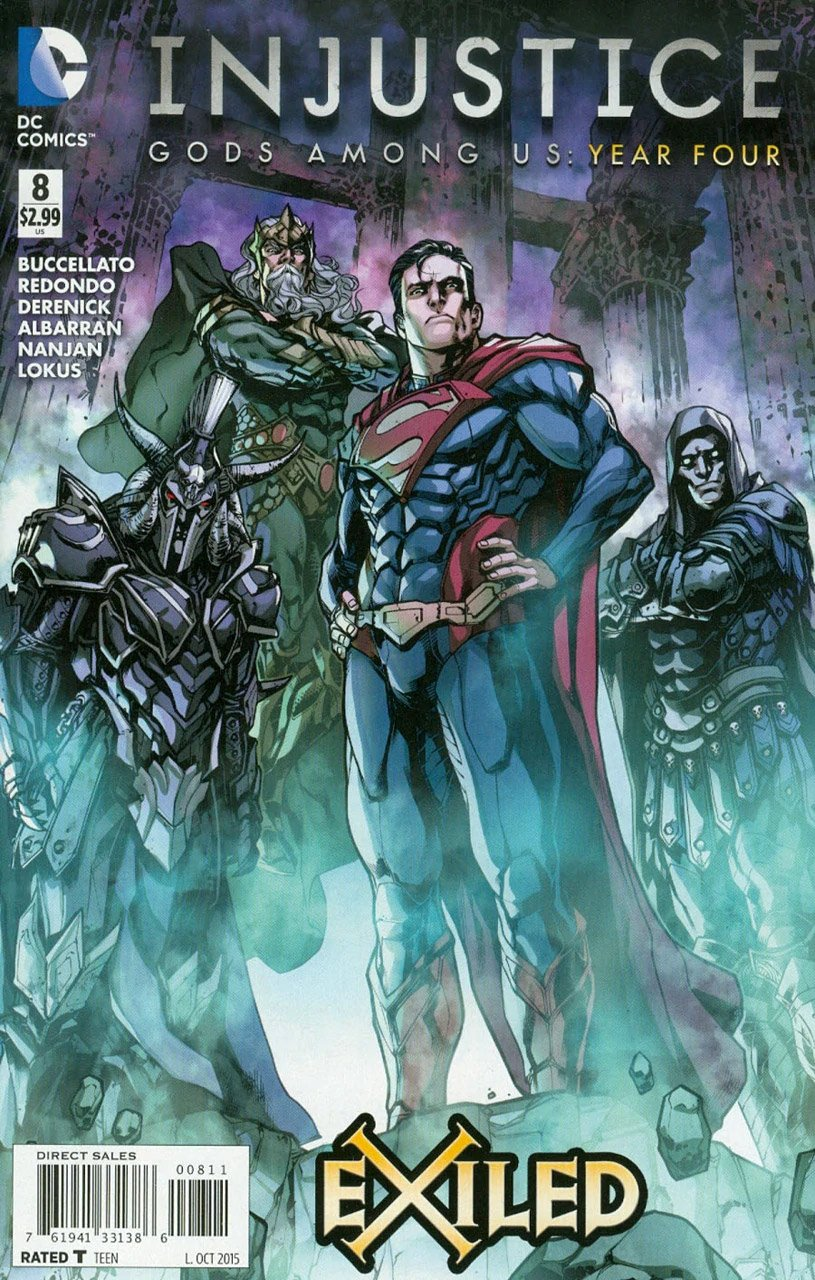 Injustice - Gods Among Us: Year Four 008 (October 2015)
