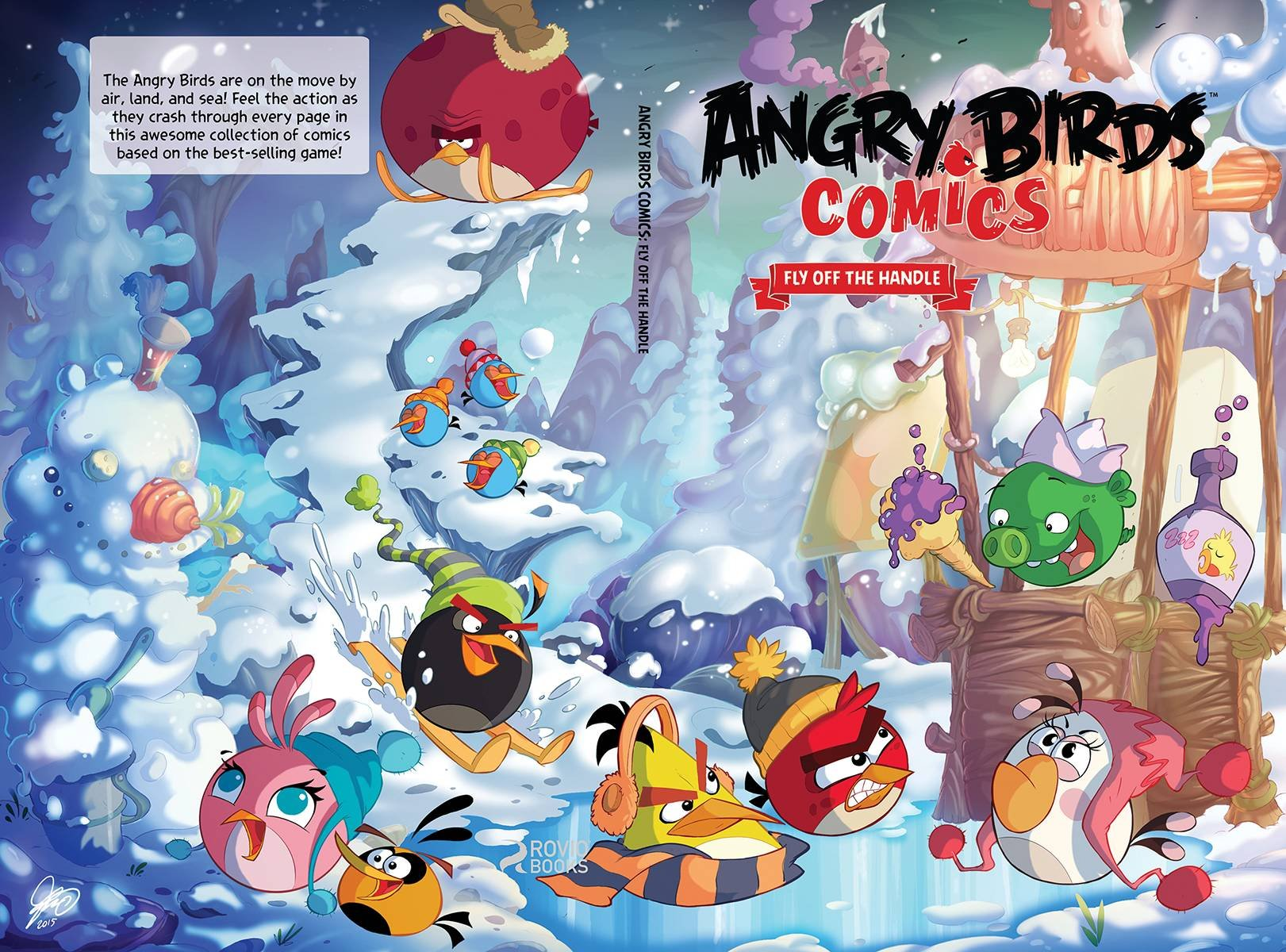 Angry Birds Comics v04 - Fly Off the Handle HC