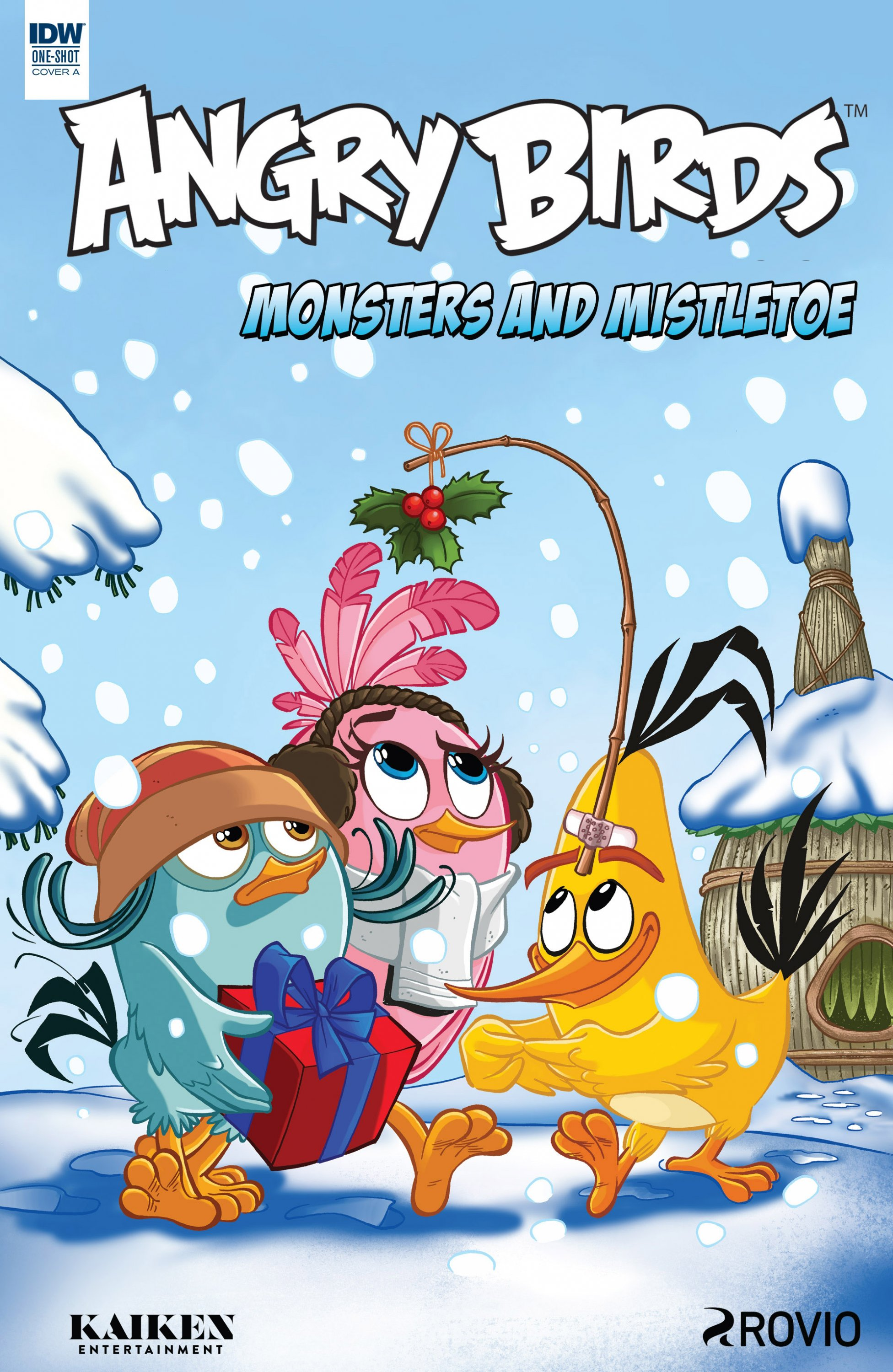 Angry Birds Comics Quarterly - Monsters & Mistletoe (December 2017) (cover a)