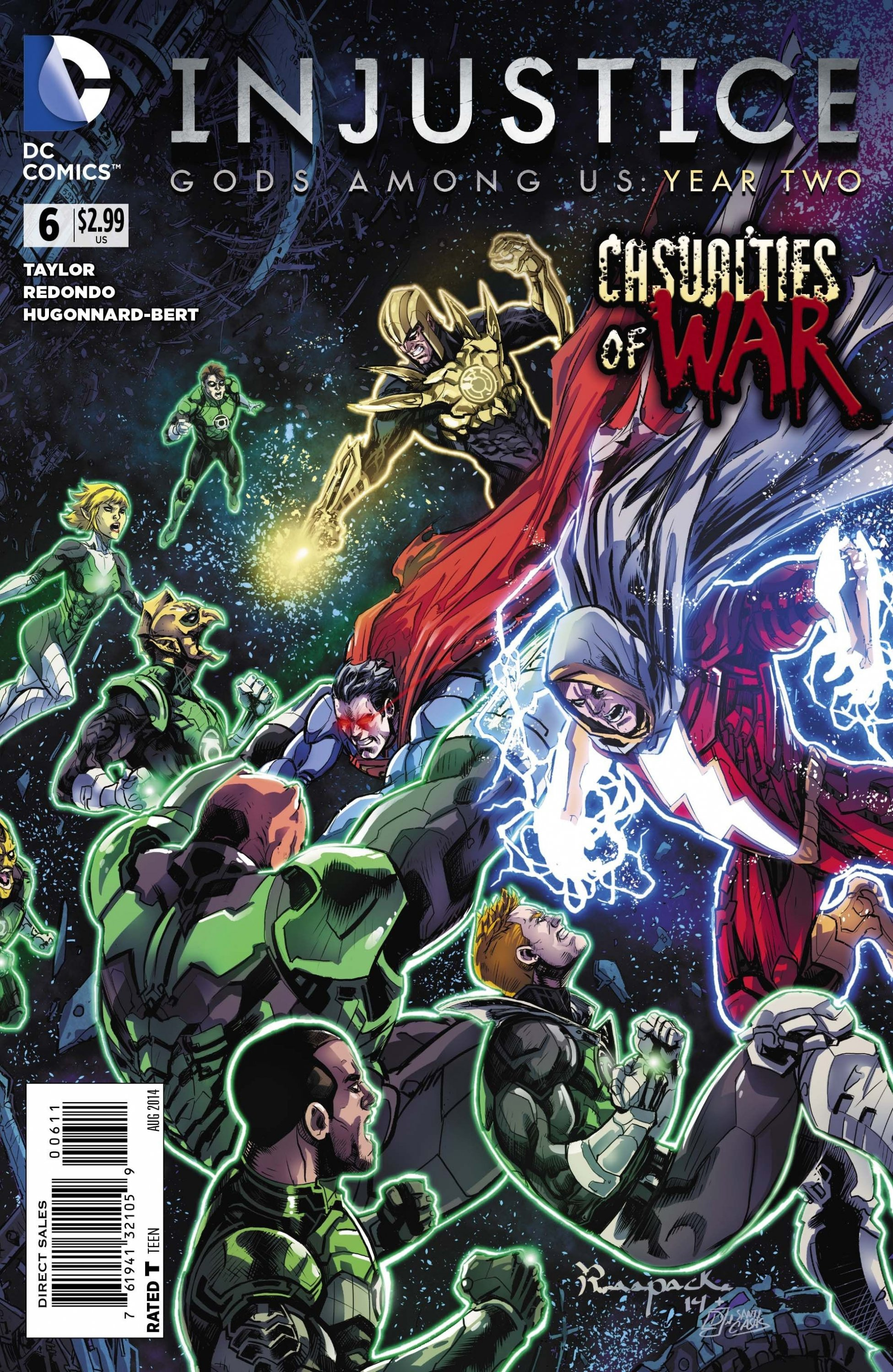 Injustice - Gods Among Us: Year Two 006 (August 2014)