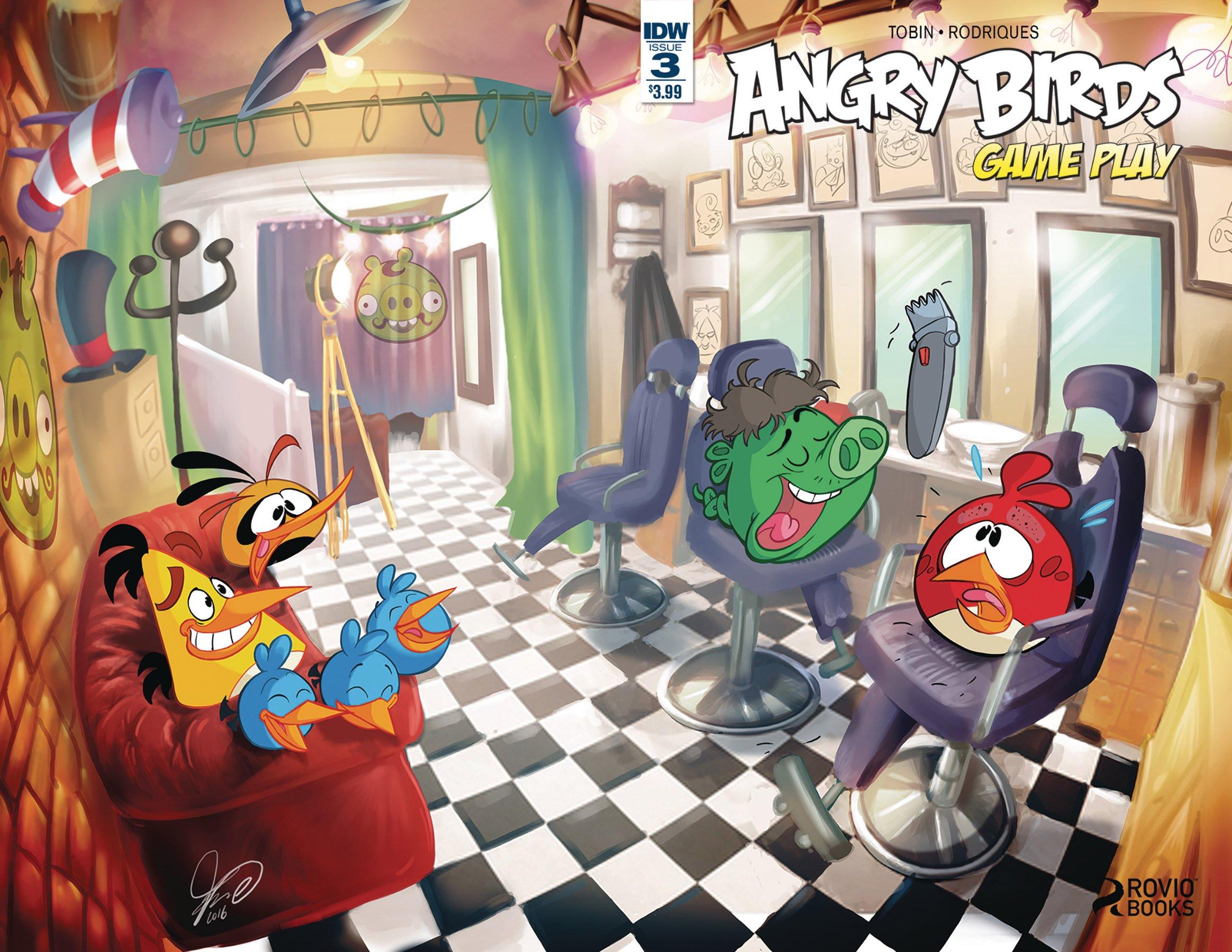 Angry Birds Comics - Game Play 003 (May 2017)