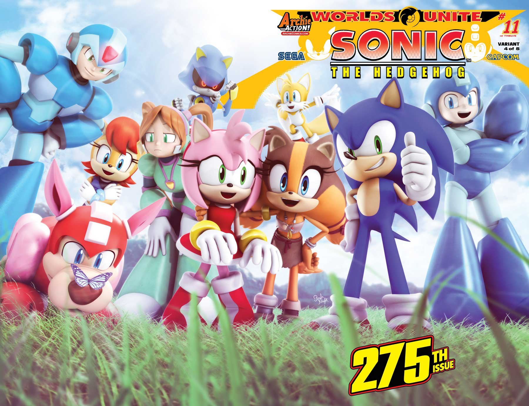 Sonic the Hedgehog 275 (October 2015) (variant 4)