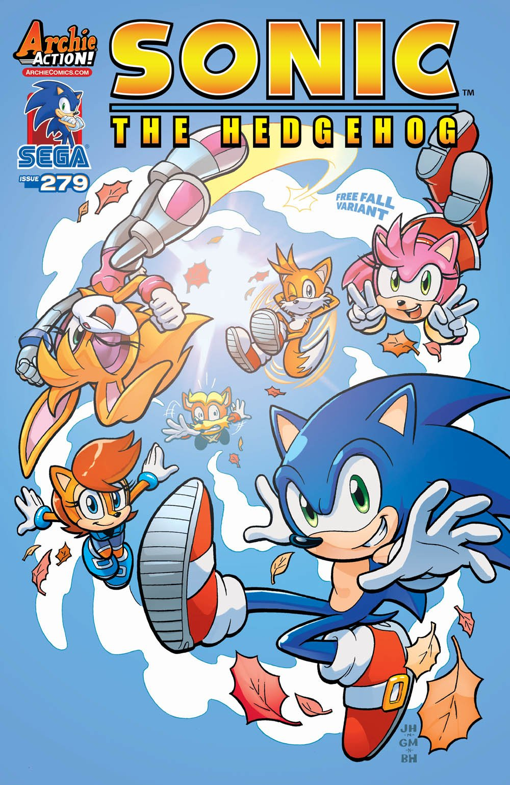 Sonic the Hedgehog 279 (May 2016) (variant edition)