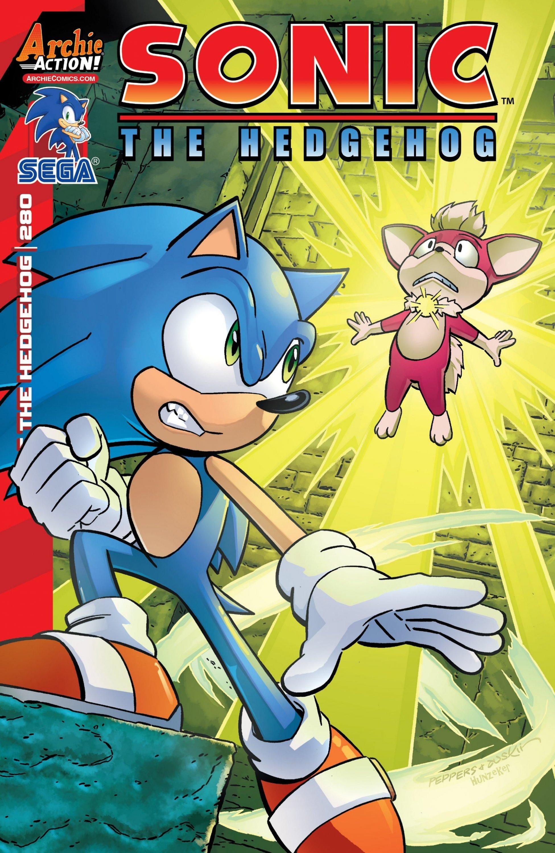 Sonic the Hedgehog 280 (June 2016)