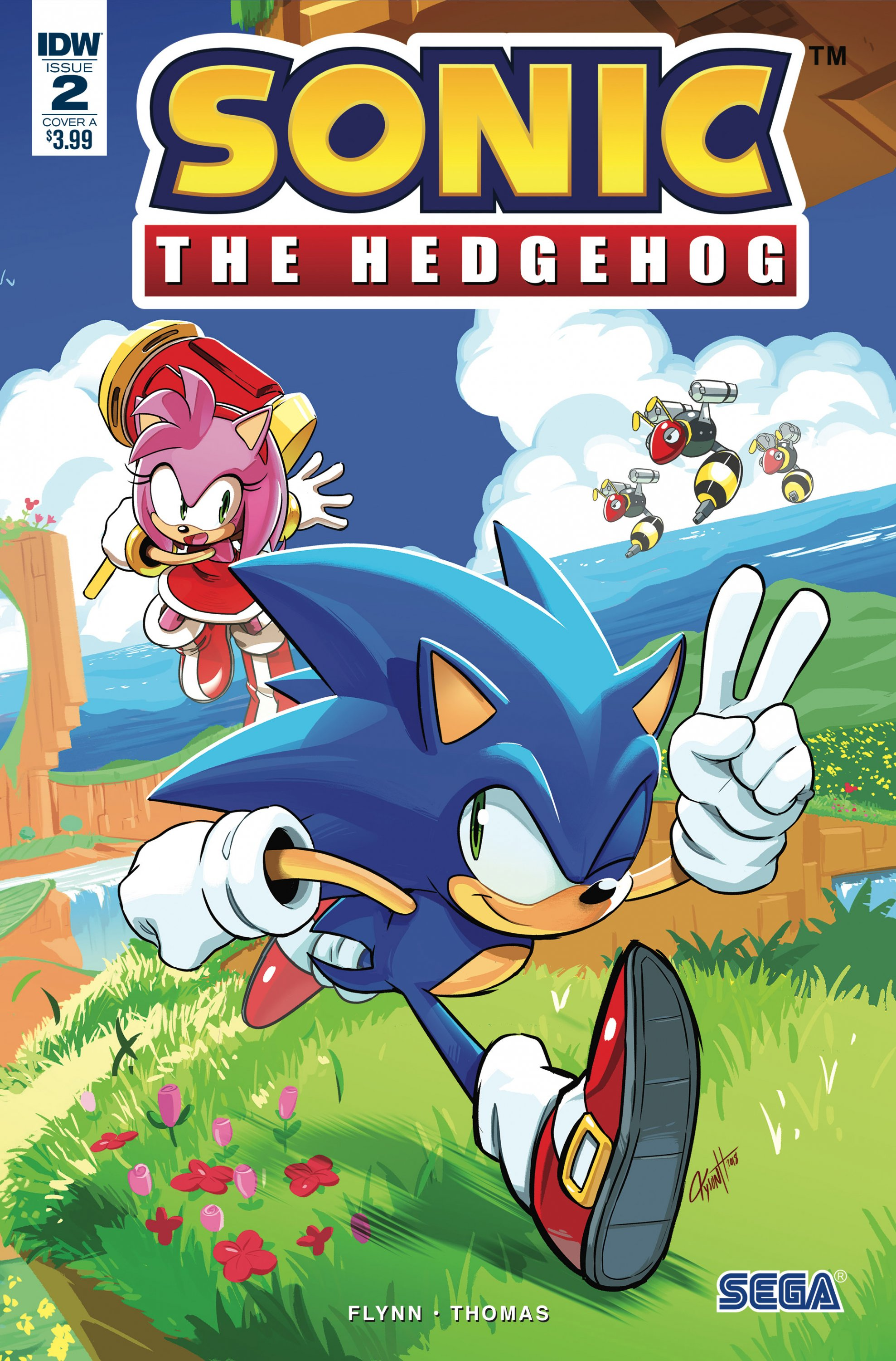 Sonic the Hedgehog 002 (April 2018) (cover a)