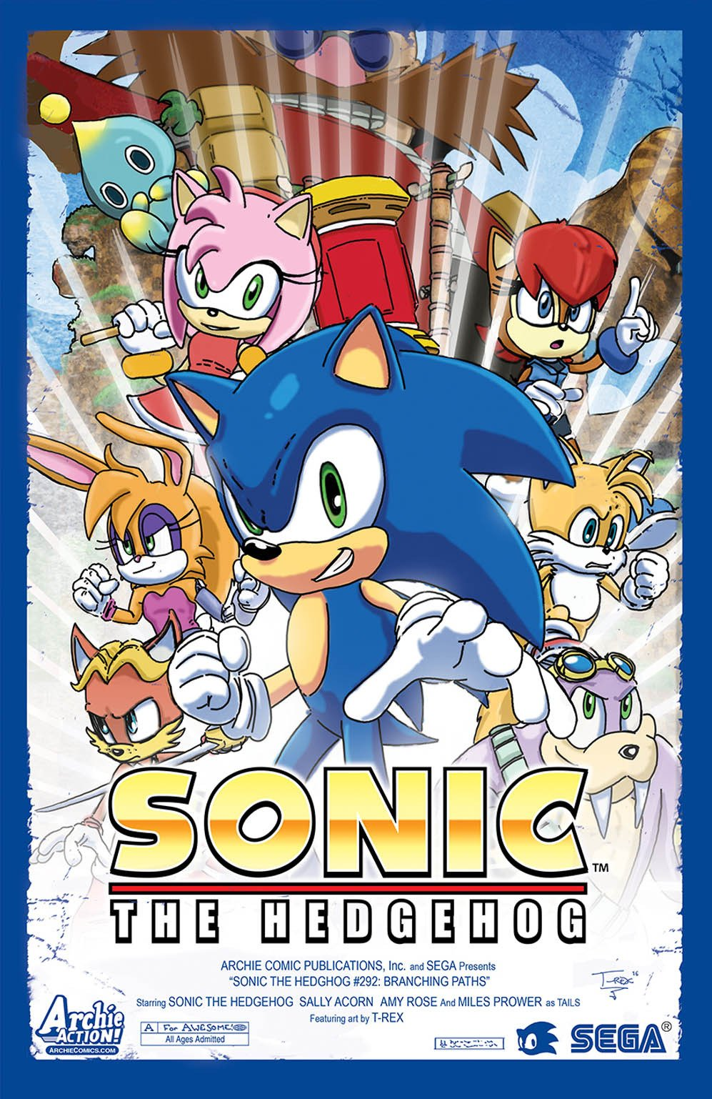 Sonic the Hedgehog 292 (variant edition) (canceled)