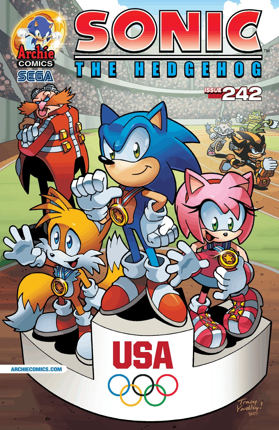 Sonic the Hedgehog 242 (December 2012)