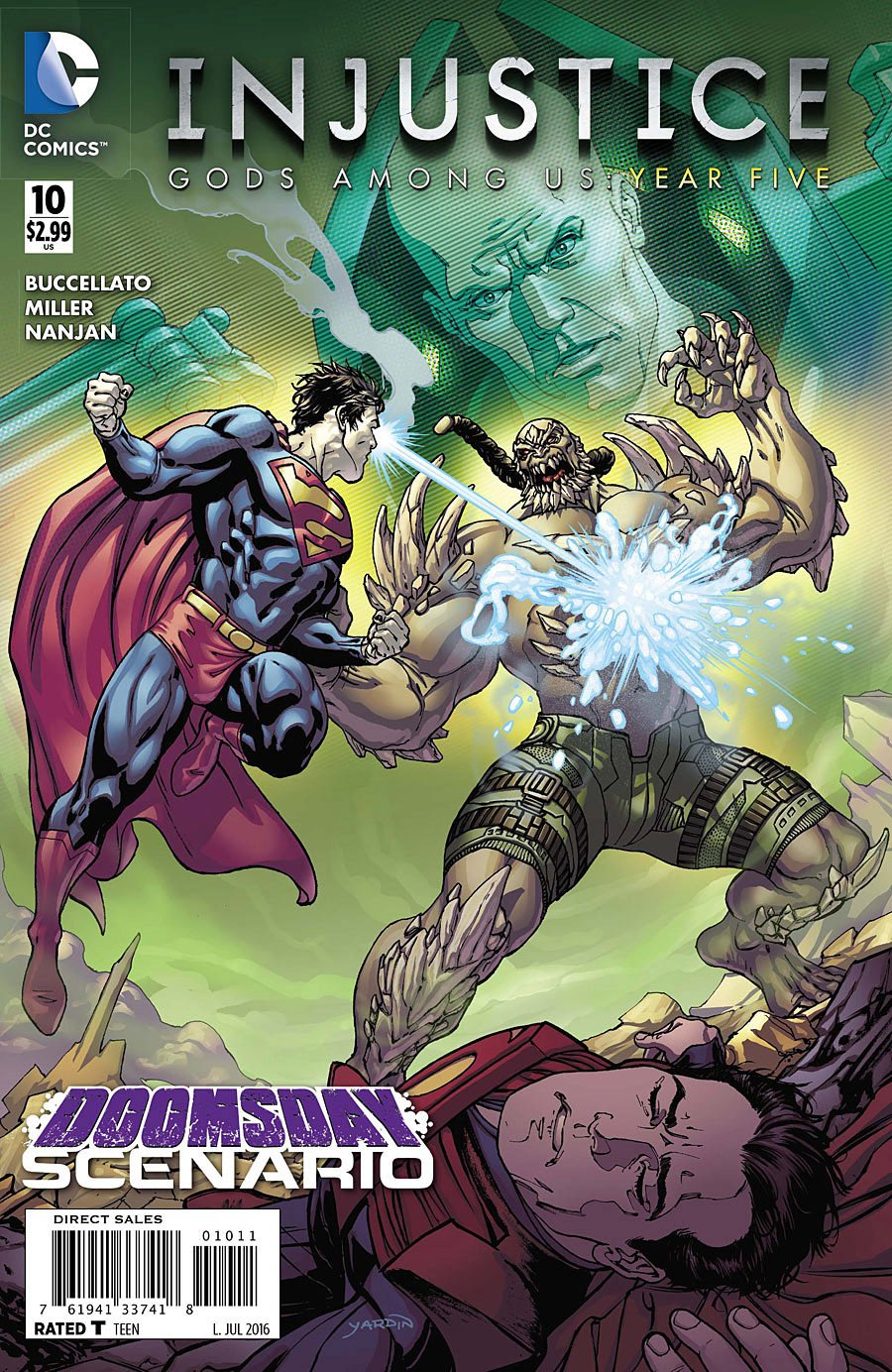 Injustice - Gods Among Us: Year Five 010 (July 2016)