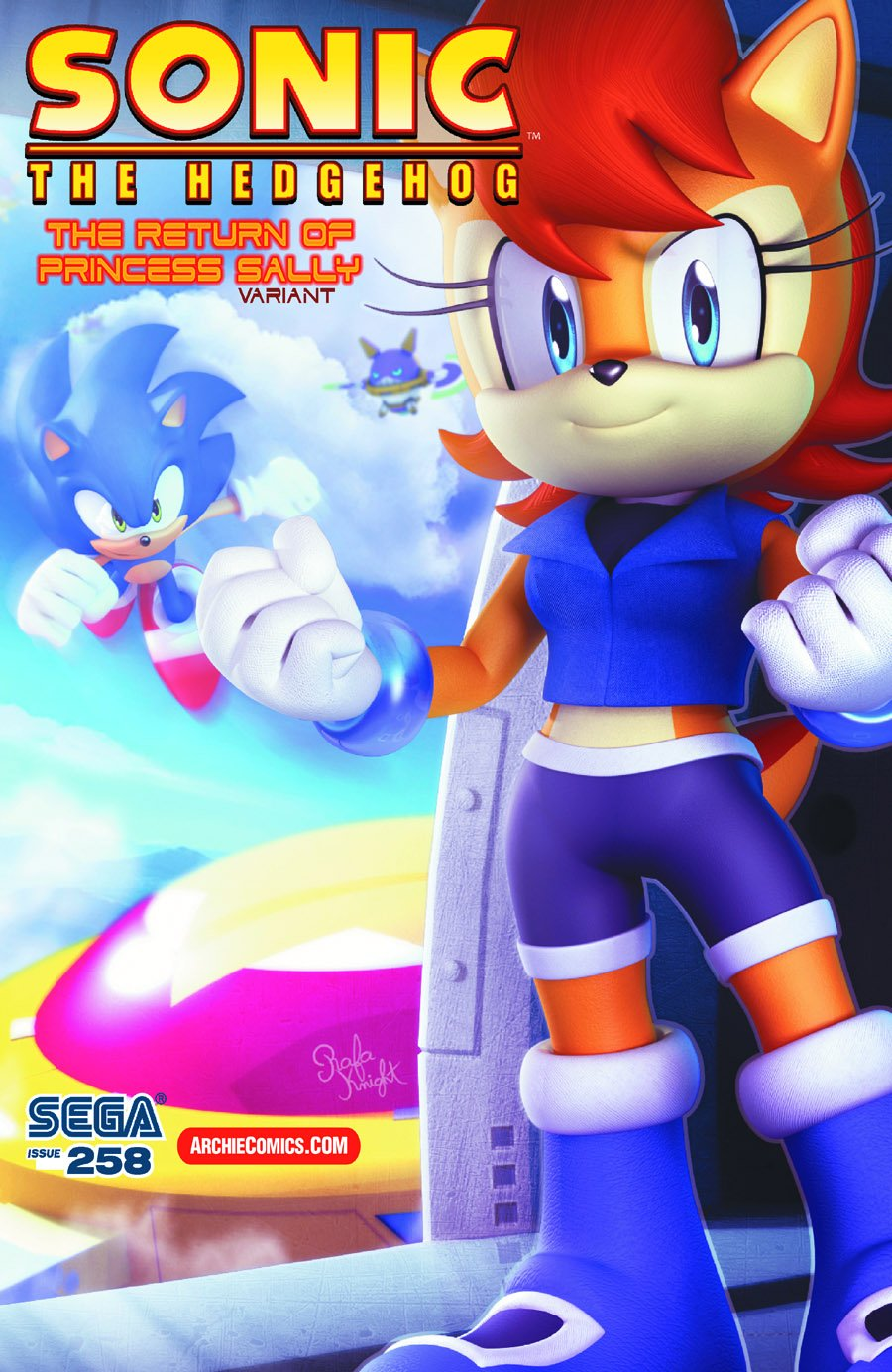 Sonic the Hedgehog 258 (May 2014) (variant edition)