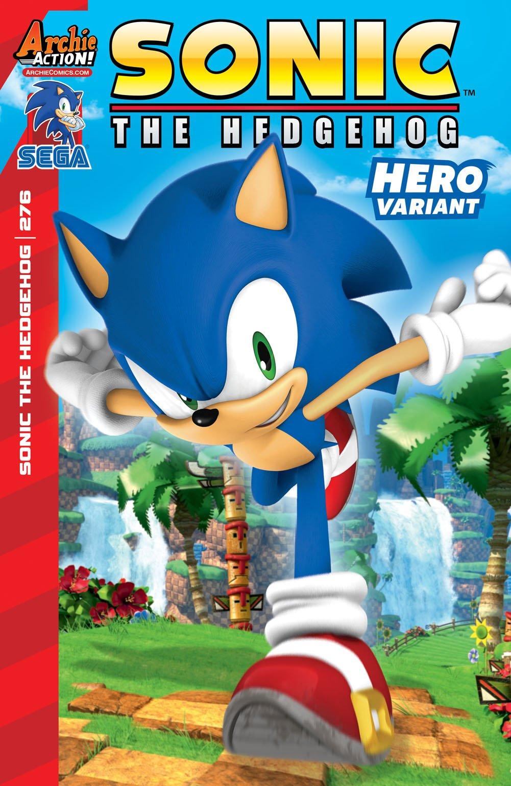 Sonic the Hedgehog 276 (November 2015) (variant edition)