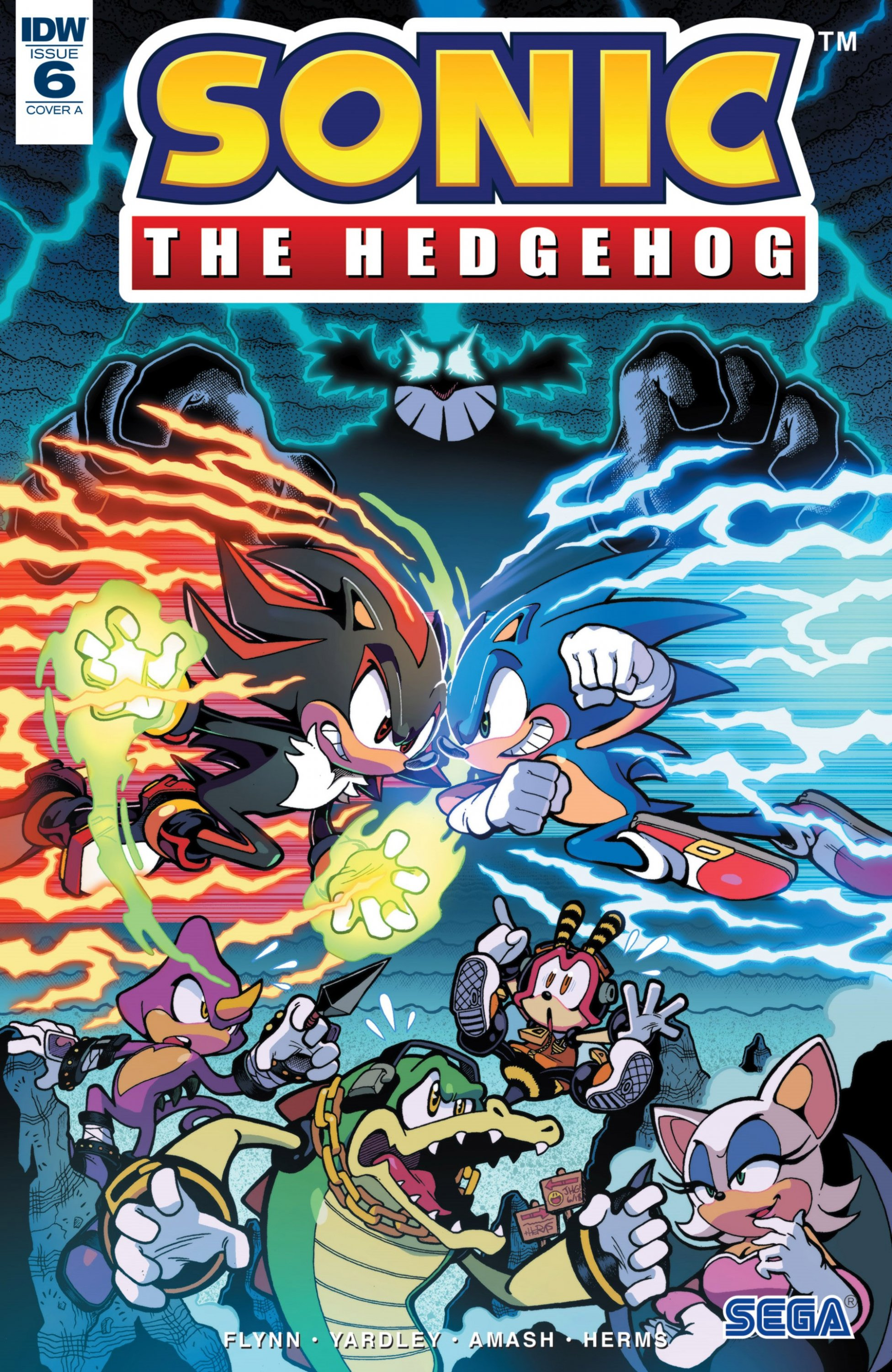 Sonic the Hedgehog 006 (June 2018) (cover a)
