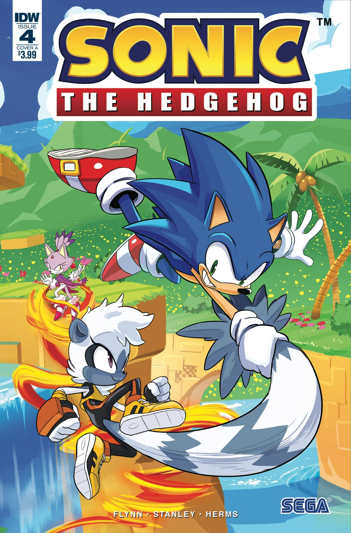 Sonic the Hedgehog 004 (April 2018) (cover a)
