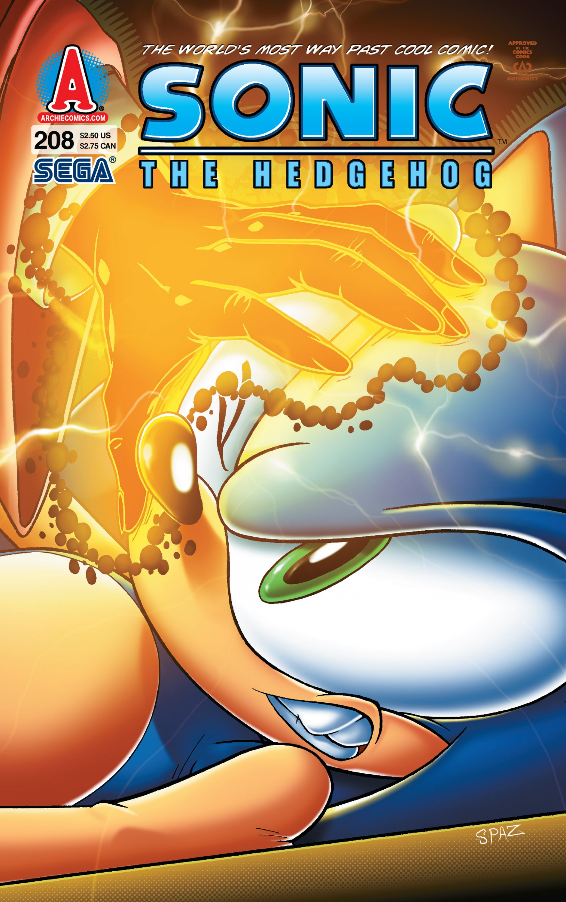 Sonic the Hedgehog 208 (March 2010)