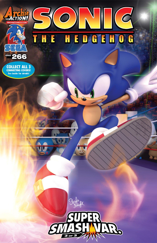 Sonic the Hedgehog 266 (January 2015) (variant edition)