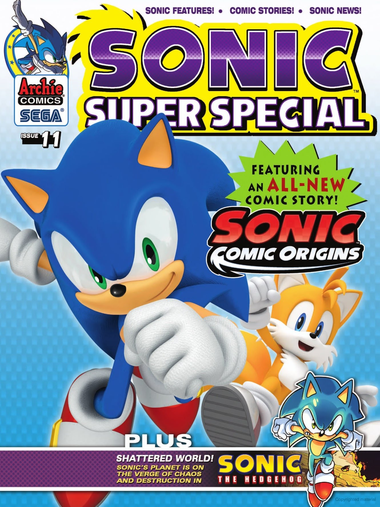 Sonic Super Special Magazine 11 (May 2014)