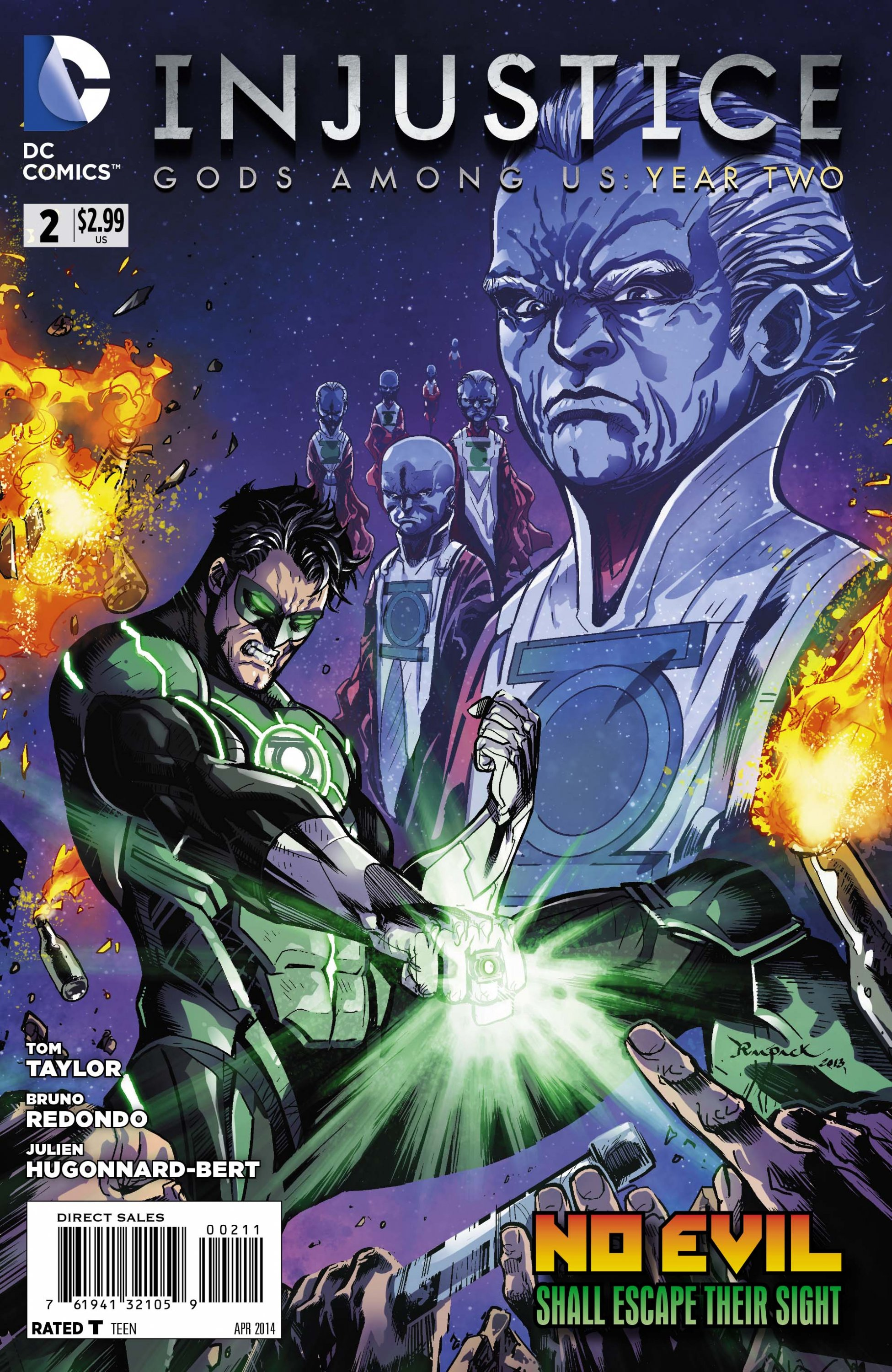 Injustice - Gods Among Us: Year Two 002 (April 2014)