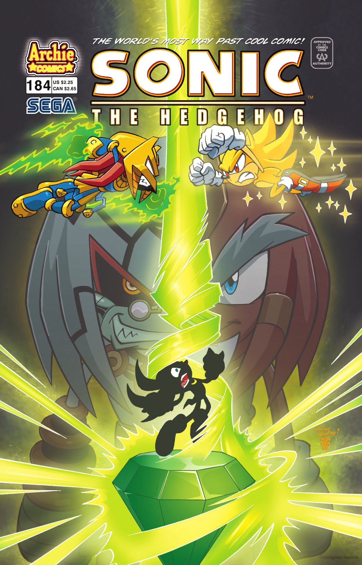 Sonic the Hedgehog 184 (March 2008)