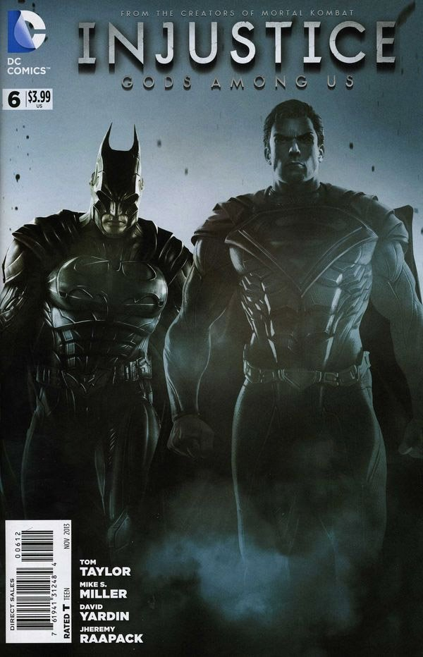 Injustice: Gods Among Us 006 (August 2013) (2nd print)