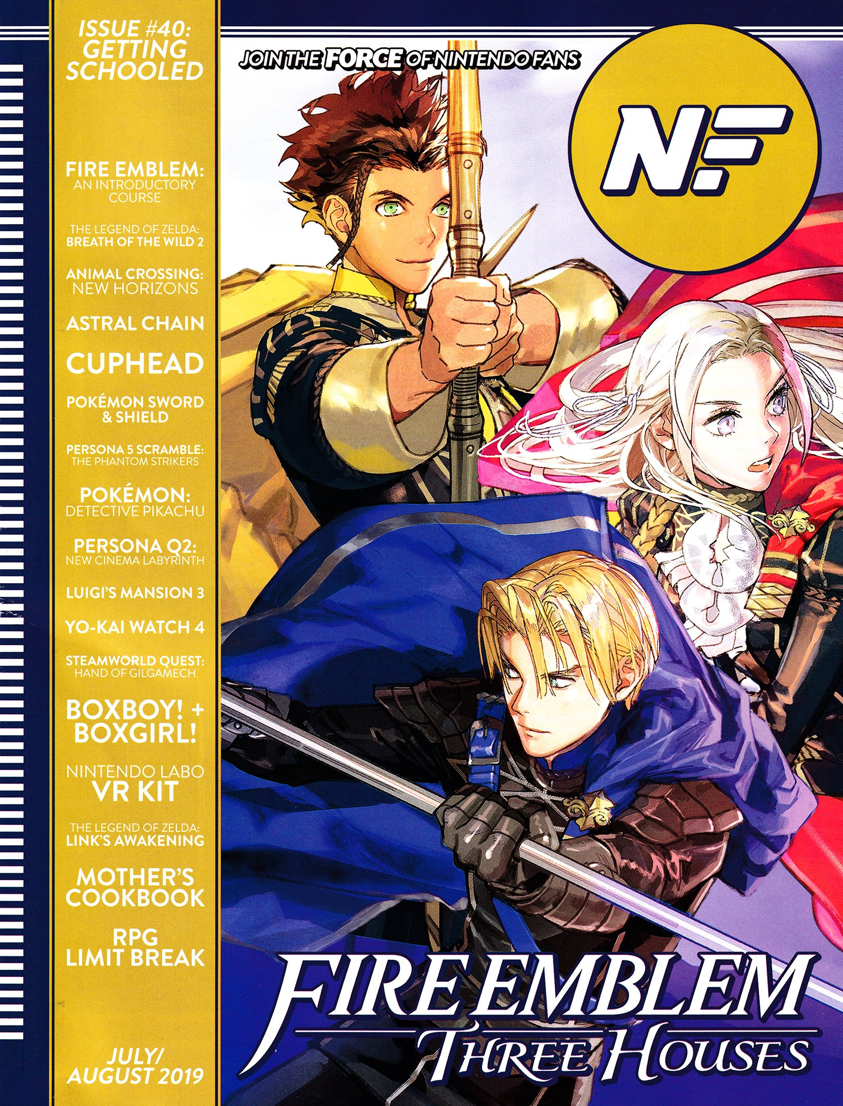 Nintendo Force Issue 40 July/August 2019