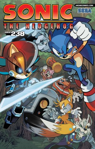 Sonic the Hedgehog 238 (August 2012)