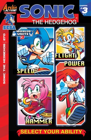 Sonic the Hedgehog 270 (May 2015)
