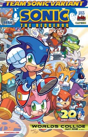Sonic the Hedgehog 250 (August 2013) (Team Sonic variant)